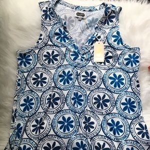 NWT MUD PIE SIZE M 8-10 PIPER JERSEY TUNIC TOP